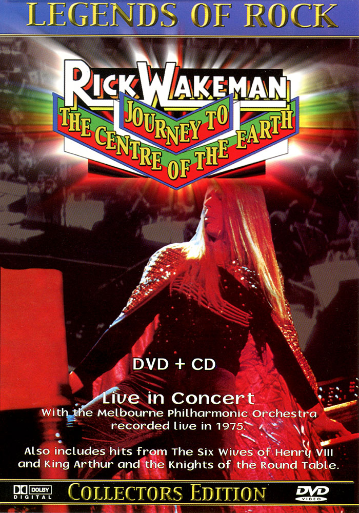 Journey to the Centre of the Earth - Live in Concert DVD