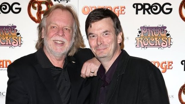 Rick Wakeman and Ian Rankin